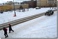 Helsinki snow
