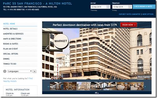 Hilton Parc 55