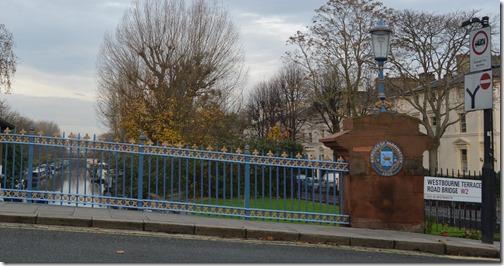 Paddington Borough sign