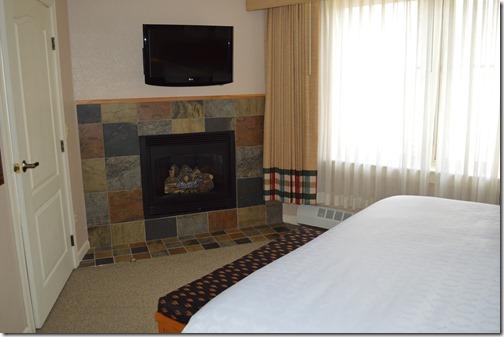 Sheraton Bedroom fireplace