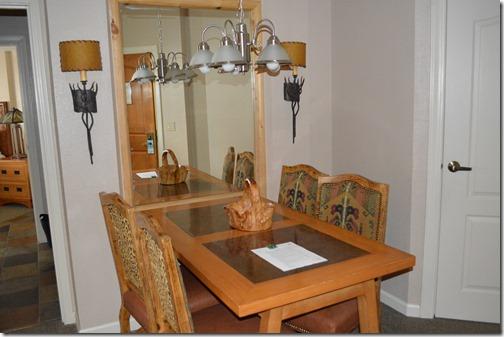 Sheraton dining area