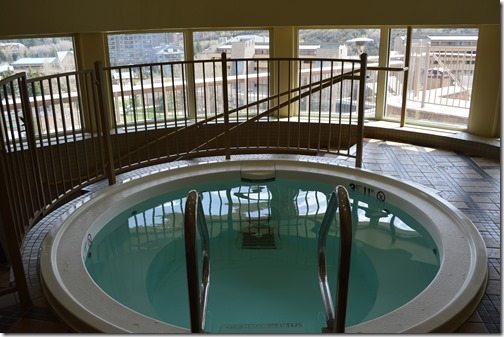 Sheraton indoor hot tub