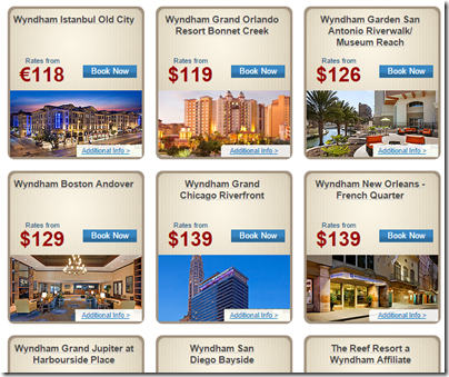 Wyndham 72-hour sale hotels