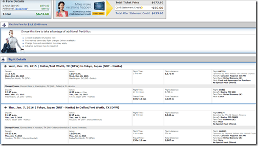 DFW-NRT UA $673 Dec23-Jan7