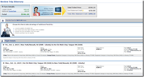 EWR-SGN United Sep15 $547