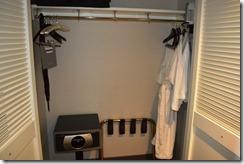 Hyatt closet