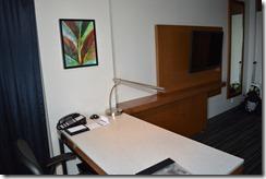 Hyatt desk