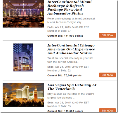 IHG Rewards Club auctions-2