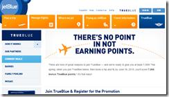 JetBlue new member 7000 points spring2015