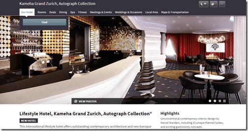 Kameha Grand Zurich bar