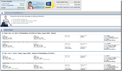 PHL-NRT UA $673 Dec 23-Jan7