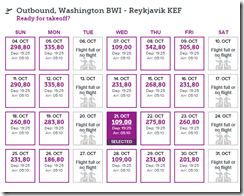 BWI-KEF ow $109 WOW Oct21