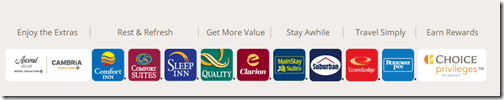 Choice Hotels brands