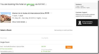 Clarion Orlando Kayak $60