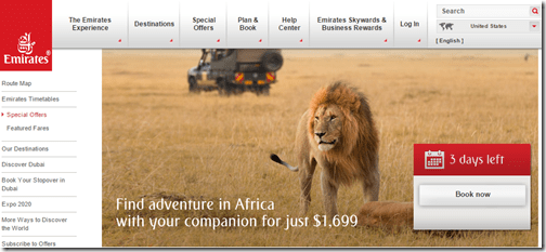 Emirates Africa Sale May 2015