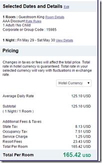 Hyatt Regency Orlando $165.42