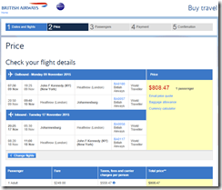 JFK-JNB BA $808 Nov15