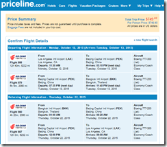 LAX-BKK $750 Air China Oct15