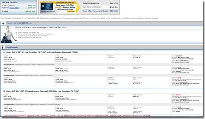 LAX-CPH $643 UA July15