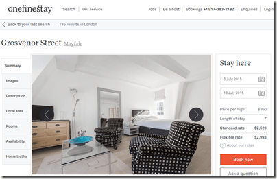 OneFineStay Mayfair