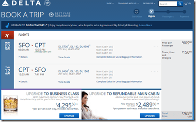 SFO-CPT $766 DL Nov15