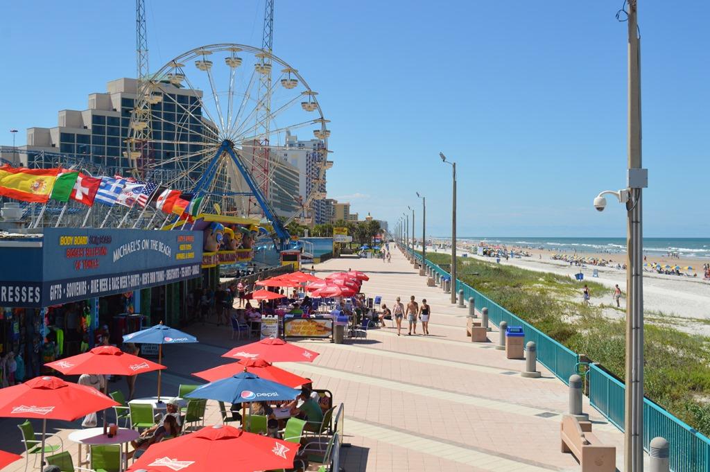 Daytona Beach Parking Lot