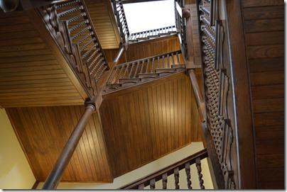 Jekyll Hotel stairs