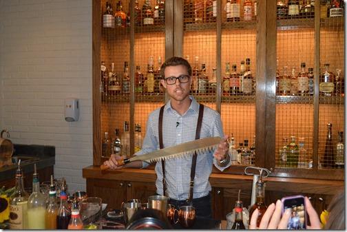 Ritz H-H bartender