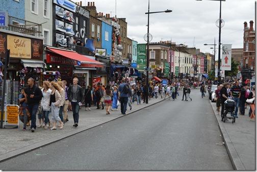 Camden Town street scene