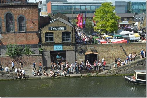 Camden canal partiers