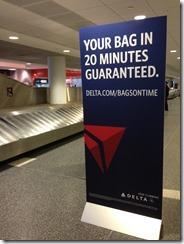 Delta bag 20min