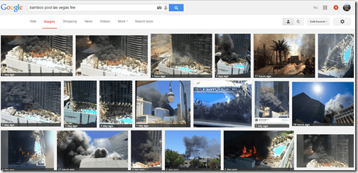 Google Images Las Vegas Cosmo fire