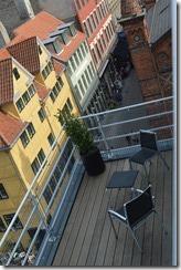 Skt Petri floor 4 balcony