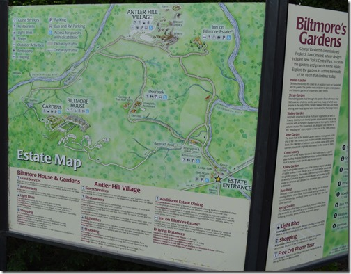 Biltmore Estate map