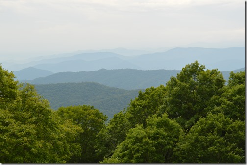 Blue Ridge Parkway Qualla