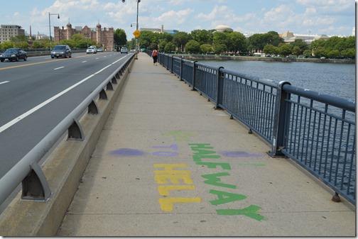Harvard Bridge sign