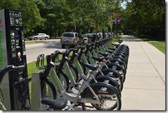Hubway bikes Boston