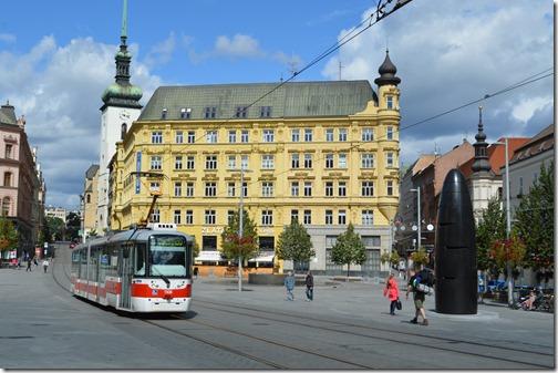 Brno square