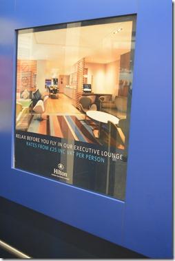 Hilton T4 Executive Lounge