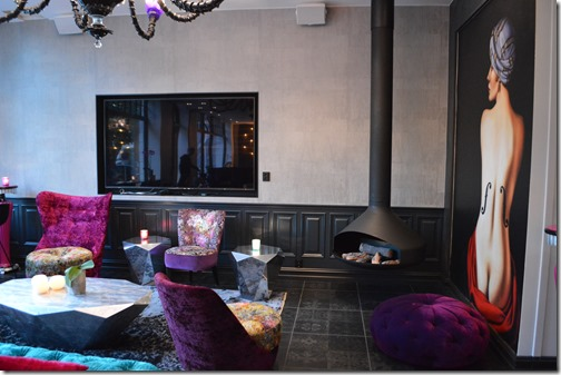 Hotel Oleana lobby