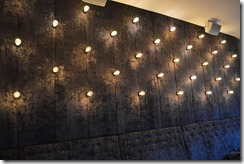 Hotel Oleana wall lights