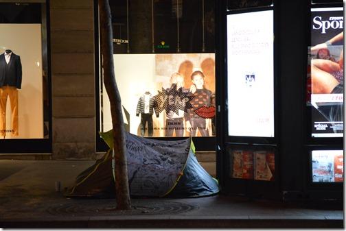Paris camper