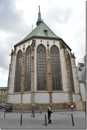 St James Church Brno