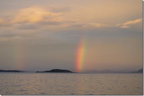 Arctic Norway Harstad sunset ray