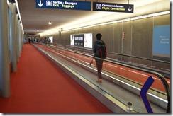 CDG Terminal 2E walkway