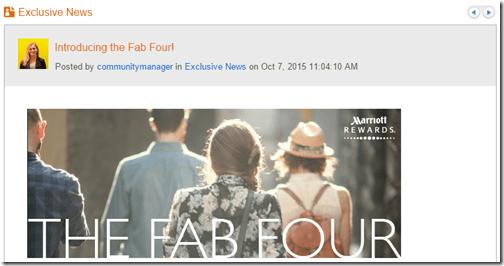 Marriott The Fab Four