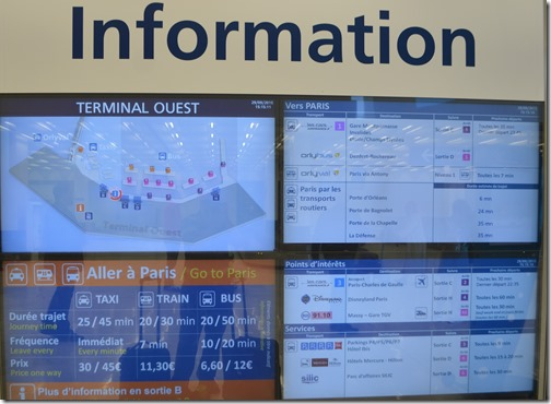 Orly Airport info