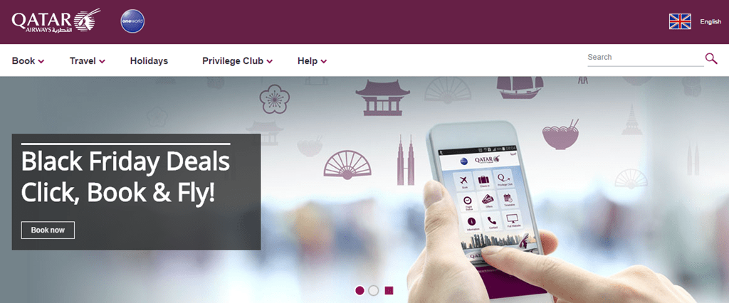 Qatar Airways Black Friday sale - Loyalty Traveler