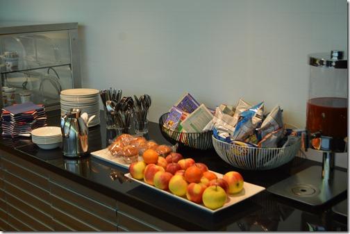AMS BA lounge food