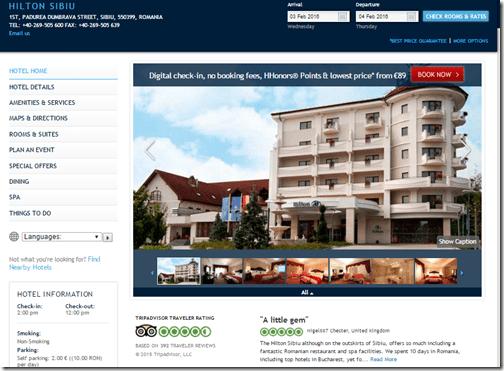Hilton Sibiu Romania